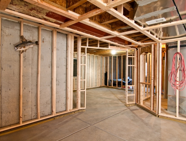 Abeam contracting inc building maintenance and for Houses with basements in california